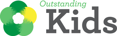 Outstanding Kids' Full Logo